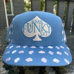 New era x wear funky vintage fitted